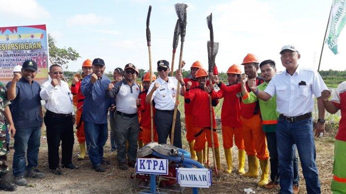 Tim Pemburu Api di CLS dan CLU Tapin Berkumpul di Margasari