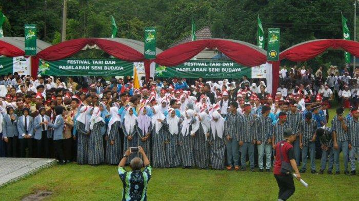 Peserta Apel Nusantara Bersatu di Balangan Teriak: