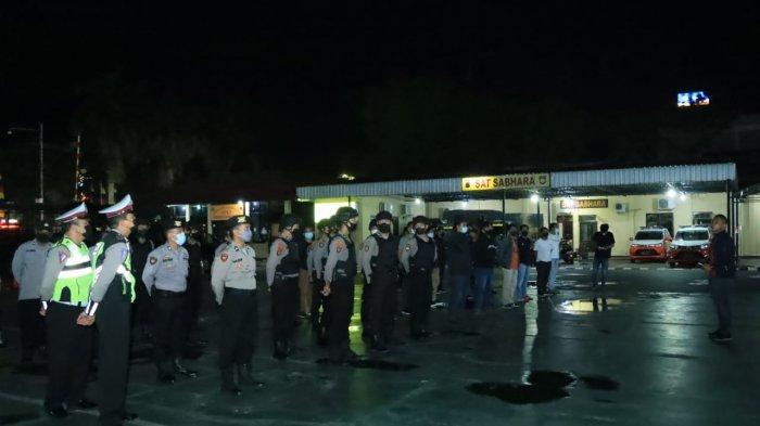 Apel Cipkon Jelang PSU Pilgub Kalsel, Kapolresta Banjarmasin Tegaskan Disiplin Prokes