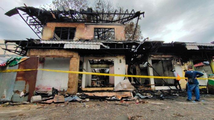Kebakaran Kalsel, Warga Sebut Awal Melihat Api di Eks Pasar Bauntung Belum Terlalu Besar