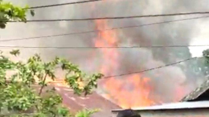 Kebakaran di Kalsel, HSS Kembali Diamuk Api, Satu Keluarga Kehilangan Tempat Tinggal