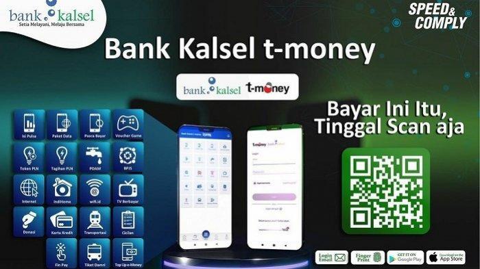 Unduh Aplikasi Bank Kalsel T-Money, Dapatkan Kemudahan Bertransaksi dengan Uang Elektronik