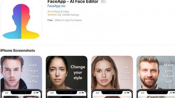 RISIKO Ubah Wajah Pakai Filter FaceApp, 'Orang Lain Ganteng Cantik, Gilaran Ita Jadi Cak Lontong'