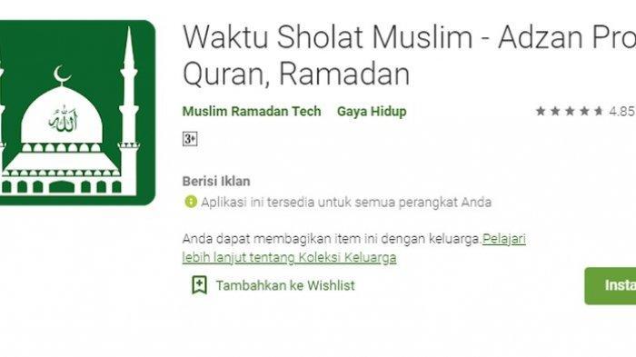 Ramadhan 1442 H Sebentar Lagi, Unduh Aplikasi Jadwal Puasa ...