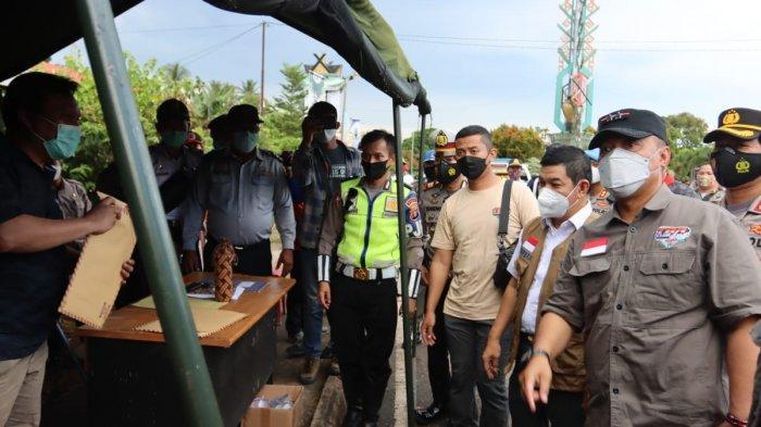 Pos Penyekatan Larangan Mudik Lebaran 2021 Perbatasan Kalteng Beroperasi Hingga 24 Mei 2021