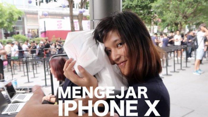 Rela Dua Hari Mengantre iPhone X di Singapura, Lihat Videonya