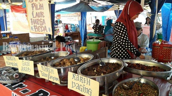 Arabian Food Yang Bikin Ragam Berbuka Puasa Makin Nikmat di Pasar Wadai Ramadhan Banjarmasin