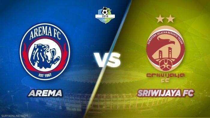 Hasil Arema FC Vs Sriwijaya FC: Skor Sementara 0-1, Esteban Vizcarra Buat Sriwijaya Unggul