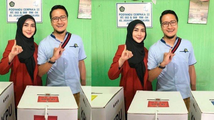 Hasil Quick Count Diposting Arie Untung & Ucap Selamat ke Jokowi, Tapi Dihapus Suami Fenita Arie