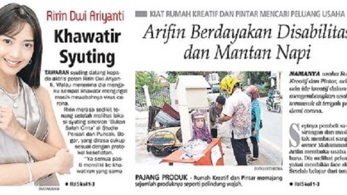Kiat Rumah Kreatif dan Pintar Mencari Peluang Usaha, Arifin Berdayakan Disabilitas dan Mantan Napi