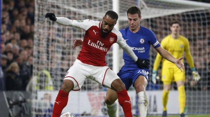 Jadwal & Informasi Live Streaming Arsenal vs Chelsea di Ajang The Mind Series Akhir Pekan Ini