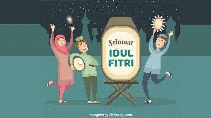Rangkuman Ucapan Selamat Idul Fitri Unik dan Kata Mutiara yang cocok untuk IG, Fb dan WA