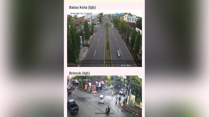 Volume Kendaraan Meningkat di Hari Kedua Idul Fitri 2021 di Kota Banjarbaru
