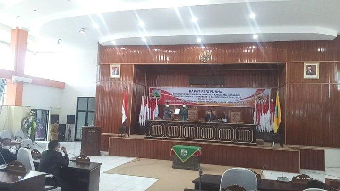 Eksekutif Sampaikan 2 Raperda, Wakil Ketua DPRD Kotabaru: Potensi Di Desa Harus Dikembangkan