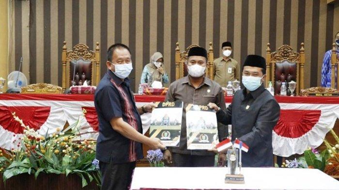 Raperda Perubahan OPD Diparipurnakan di DPRD Kabupaten Tanbu