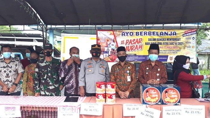 Pemerintah Kabupaten Kotabaru Laksanakan Operasi Pasar Murah