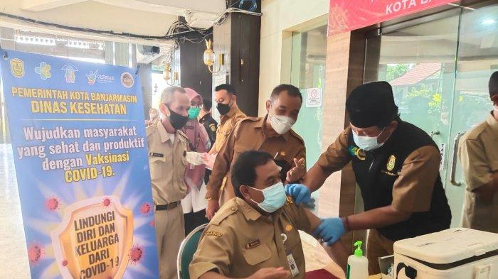 Maksimalkan Vaksinasi, Dinkes Banjarmasin Minta Bantuan Tambahan Vaksinator ke Dinkes Kalsel