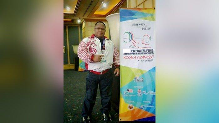 Jadi Peparnas Terakhir, Atlet Angkat Berat NPC Kalsel Hero Pariyono Targetkan Emas