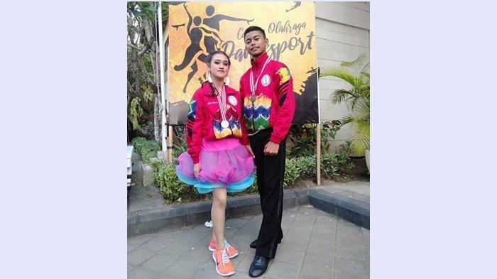 Duet Ram dan Aniq Hasilkan Perunggu di Pra Pon Dancesport di Bali