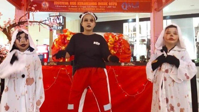 Latih Mental, Atlet Dancesport RDP Tampil di Acara Hiburan di Q Mall Banjarbaru