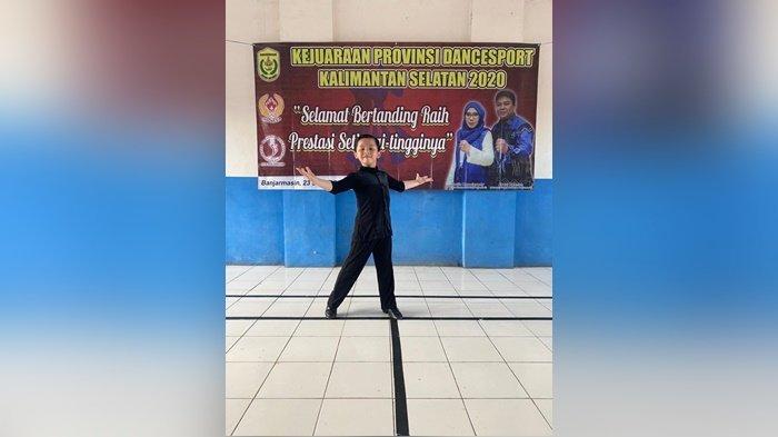 Juara Dansa Malaysia Radhika Dhafi Pratama Hibur Komunitas di Banjarmasin