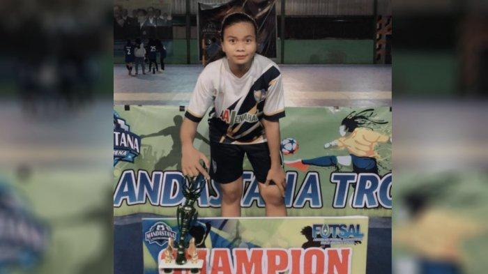 Pernah Cedera di Final Futsal Kejurprov Jadi Pelecut Atlet Futsal Tabalong Dewi Anisa Berprestasi
