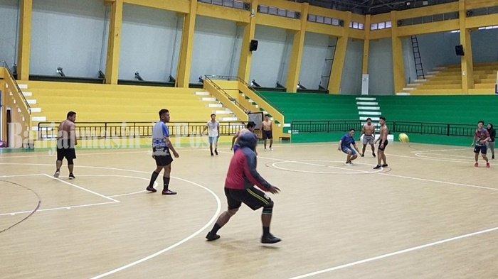 Atlet Gulat Kalsel Main Futsal Guna Tingkatkan Kecepatan dan Reaksi