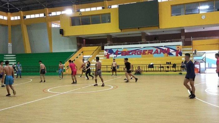 Minggu Pertama Ramadan, Atlet Gulat Banjarmasin Hanya Latihan Satu Kali Sehari