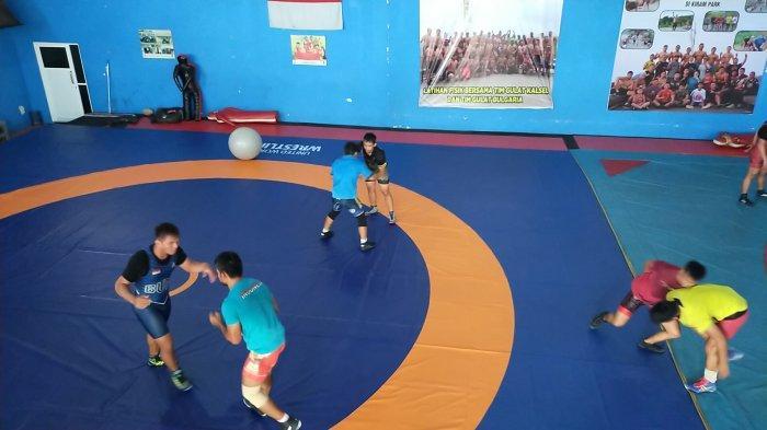 Pegulat Kalsel akan Training Camp ke Cilloto, Jawa Barat