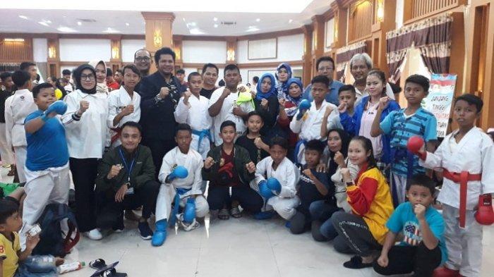 Ajang Persiapan Kejurprov Karate Forki Kalsel, Inkai Kalsel Turun di Tournament Paman Birin Cup 2019