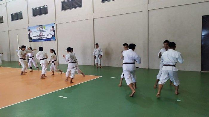 Hadapi Porprov Kalsel di HSS, Atlet Kenshi  Banjarmasin Intensifkan Latihan