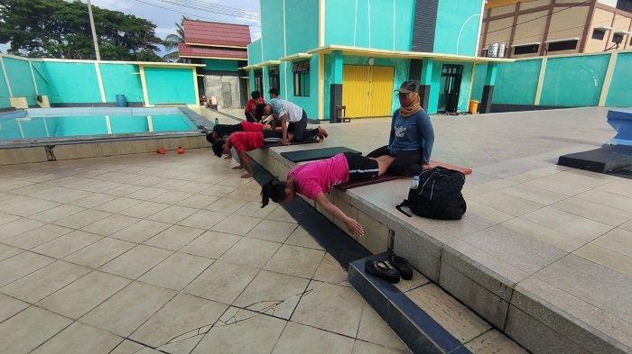 Limit Atlet Terus Membaik, Tim Loncat Indah Kalsel Siap Hadapi PON Papua 2021