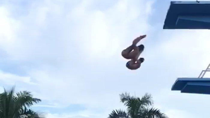 Mantapkan Berlaga di PON Papua, Atlet Loncat Indah Kalsel Tajamkan Latihan Teknik