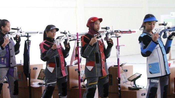 PON XX Papua 2021- Atlet Menembak Andalan Kalsel di Nomor 10 Meter Air Rifle Takluk di Final