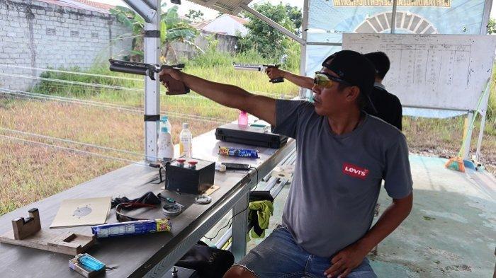 Jelang Peparnas Papua 2021, Cabor Menembak NPC Kalsel Terus Lakukan Persiapan