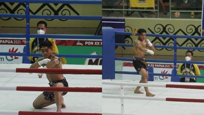 Atlet Muay Thai Kalsel Sumbangkan Medali Kedua Untuk Banua di PON XX Papua 2021