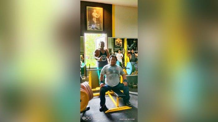 Hadapi Peparnas Papua, Atlet Angkat Berat NPC Kalsel Hero Pariyono Intensifkan Latihan