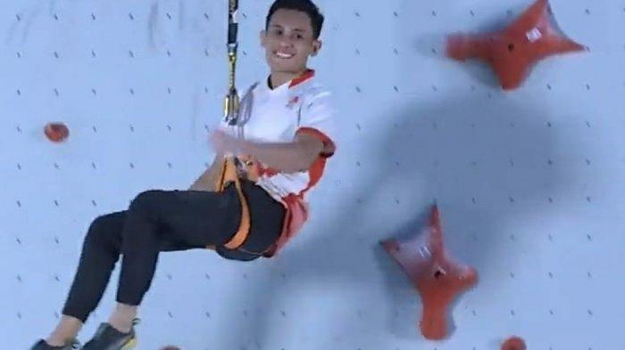 Veddriq Leonardo, Atlet Panjat Tebing Indonesia yang Bikin Rekor Dunia Kelas Speed di Amerika