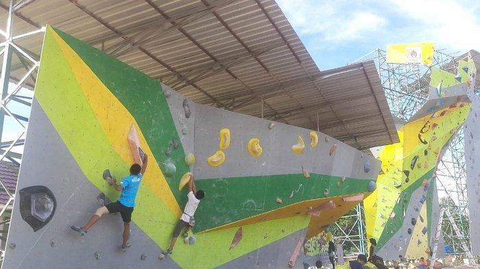 Lakukan Pemusatan Latihan di Kabupaten Tapin, Atlet Panjat Tebing Kalsel Siap Hadapi PON Papua 2021