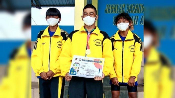 Ciptakan Kejutan di 200 Meter Gaya Ganti Putra, PRSI Banjarbaru Penuhi Target di Popda Kalsel 2021