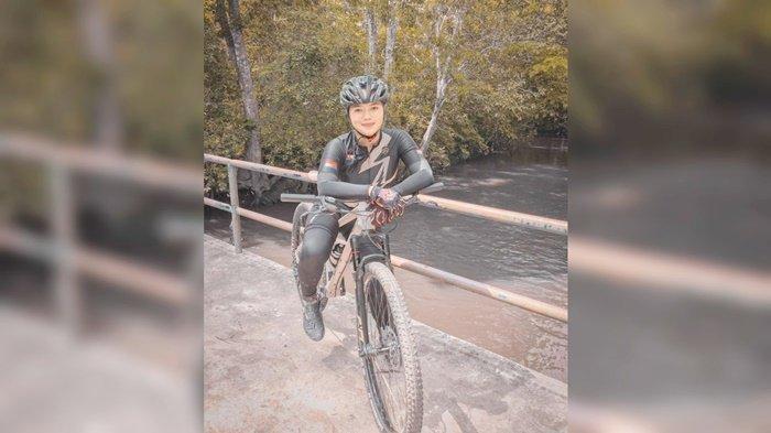 Trek di Sumedang Jadi Pengalaman Tak Terlupakan Atlet ISSI Kabupaten HSU Syifa Febriana