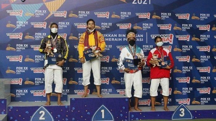 Takluk di Final, Desy Jakal Raih Medali Perak PON XX Papua di Kategori Randori 60 Kg Putri