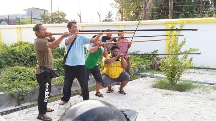 Olahraga Sumpit Mulai Digemari di Banjarmasin