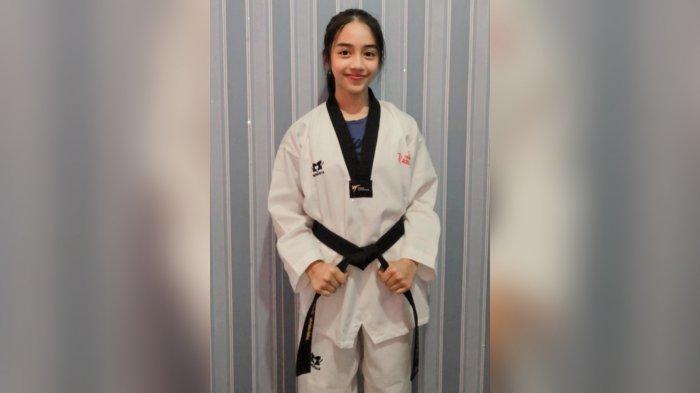 Berawal dari Coba-coba, Gadis Rizki Kini Cetak Prestasi Bersama Tim Taekwondo Banjarmasin