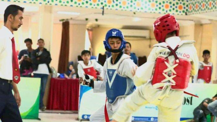 Taekwondoin Banjarbaru Lakukan Latihan Intensif di Dojang Maupun di Rumah Jelang Popda 2021