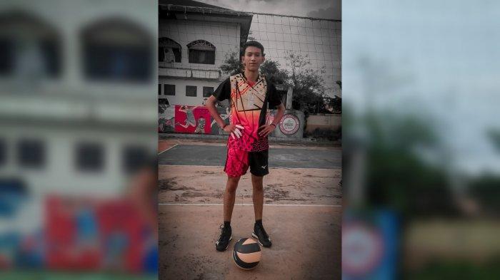 Atlet Muda Asal Balangan Jadikan Pemain Timnas Voli Indonesia Rivan Nurmulki Sebagai Role Model