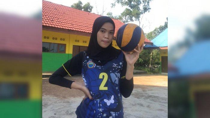 Sama-sama di Posisi Spike, Atlet Voli Tanahbumbu Lely Sapitri Kagumi eks Pemain Timnas Indonesia ini