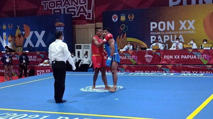 Takluk Atas Peraih Emas Pra PON 2019, Atlet Wushu Kalsel Tersingkir di PON XX Papua 2021
