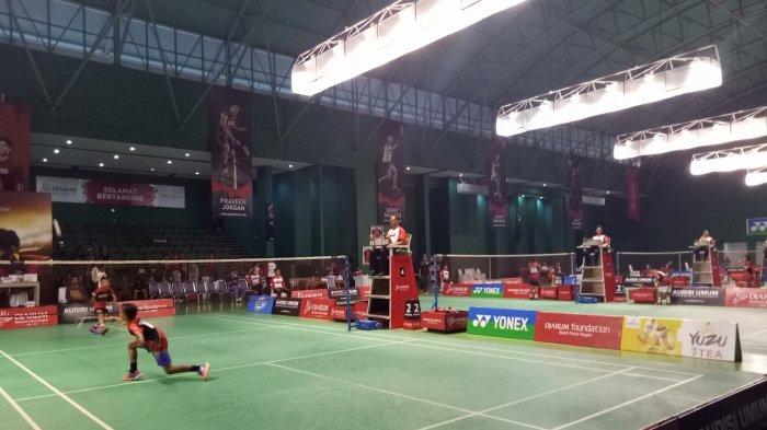 112 Pebulutangkis Junior Lolos Ke Tahap Kedua Final Audisi Djarum