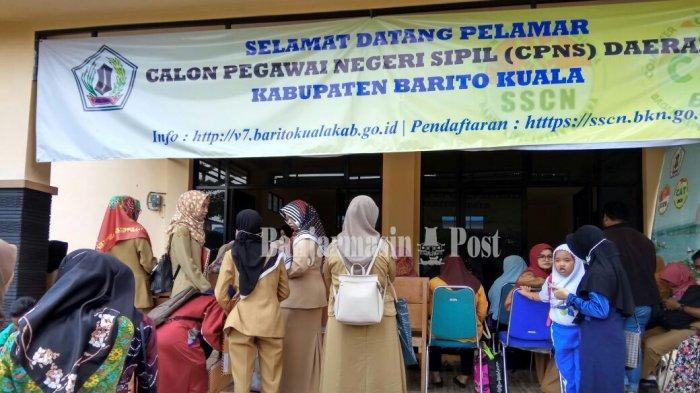 Hari ini Pendaftaran CPNS Batola Kalsel, Pelamar Diminta Berhati-hati